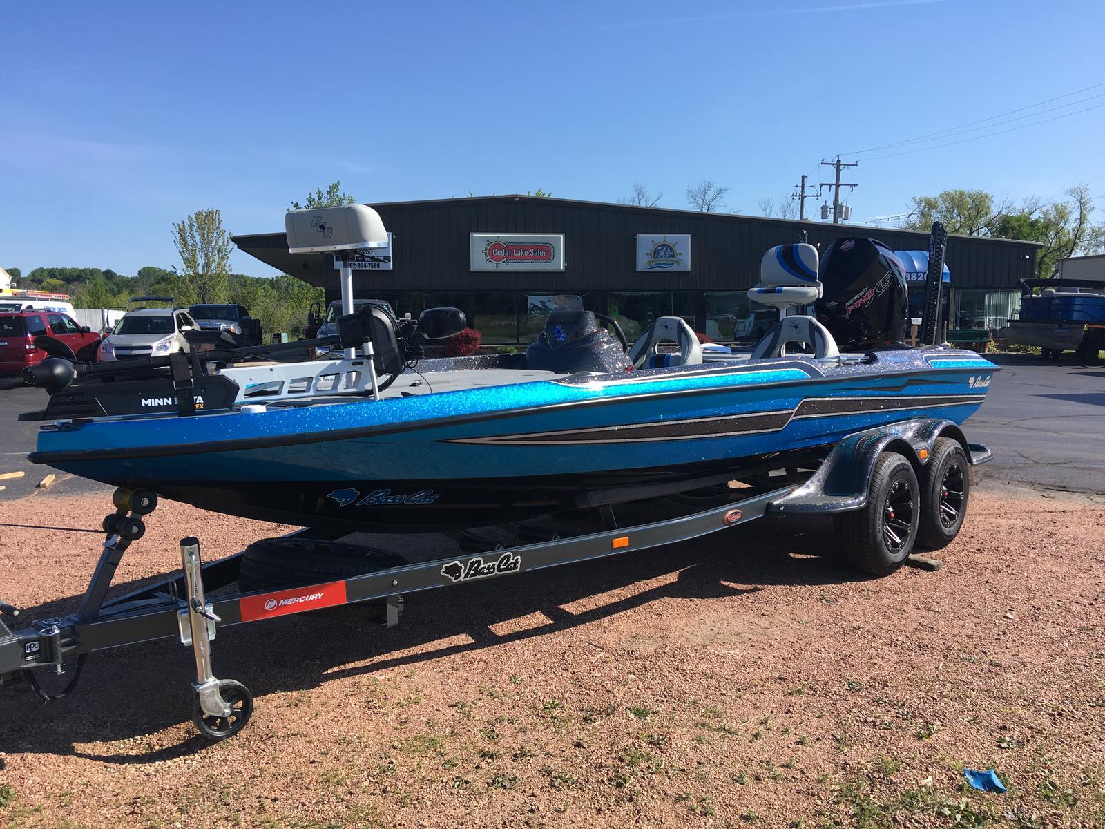 Bass Cat Boats PUMA FTD SP