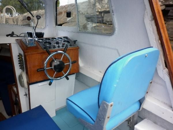 Channel Island 22 - Wheelhouse