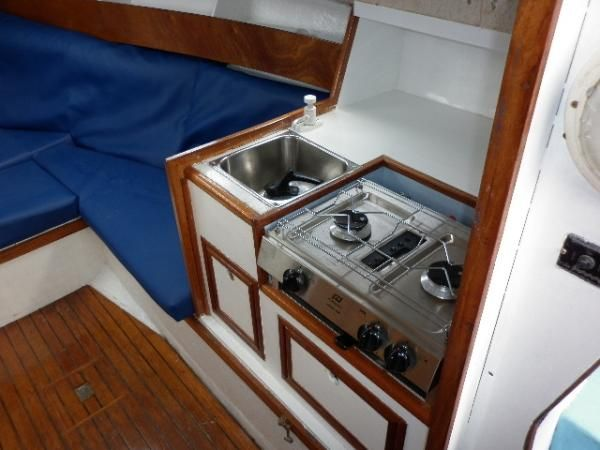 Channel Island 22 - Galley