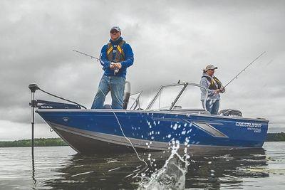 Crestliner 1650 FISH HAWK SE WT