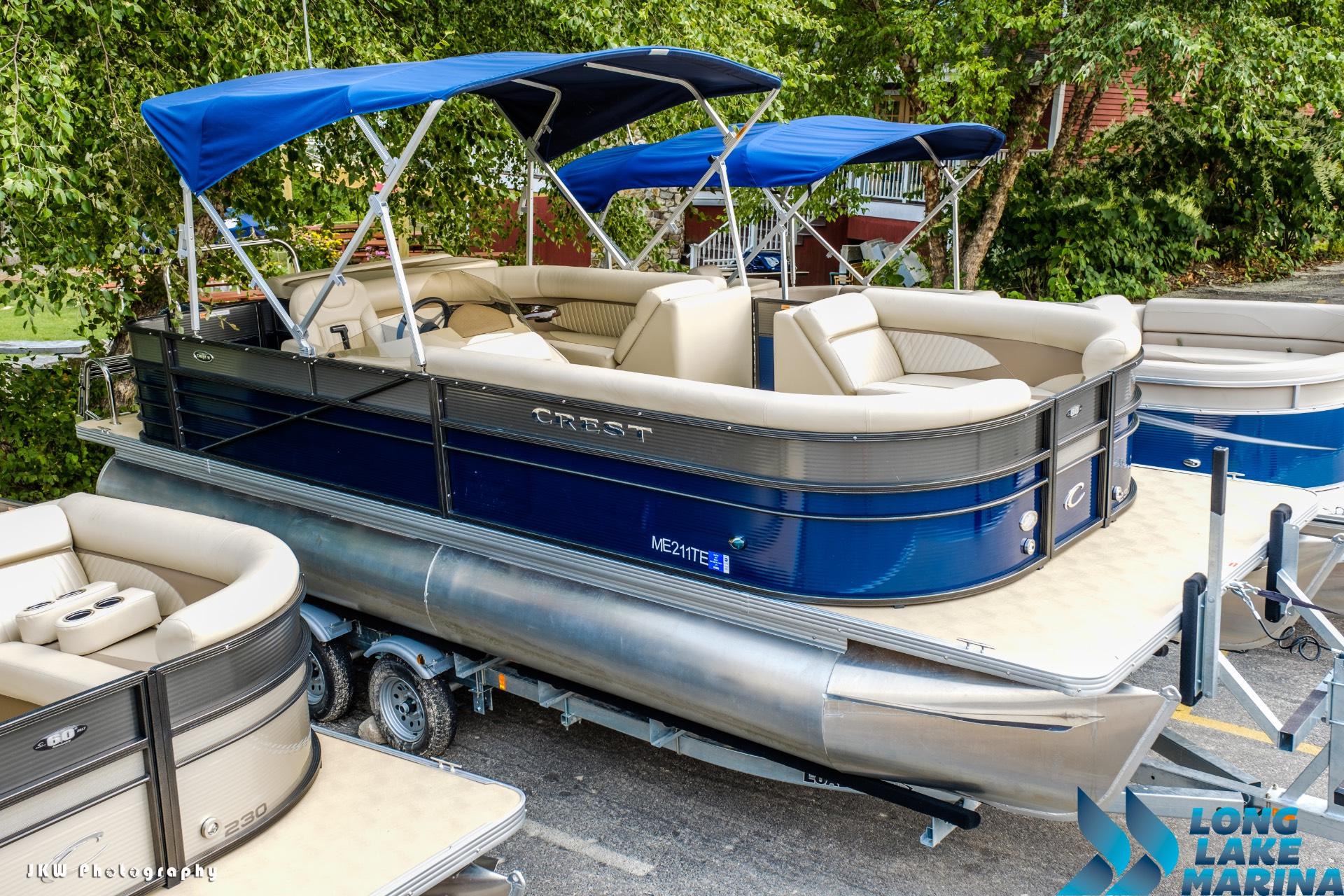 Crest Pontoon Boats II 230 L