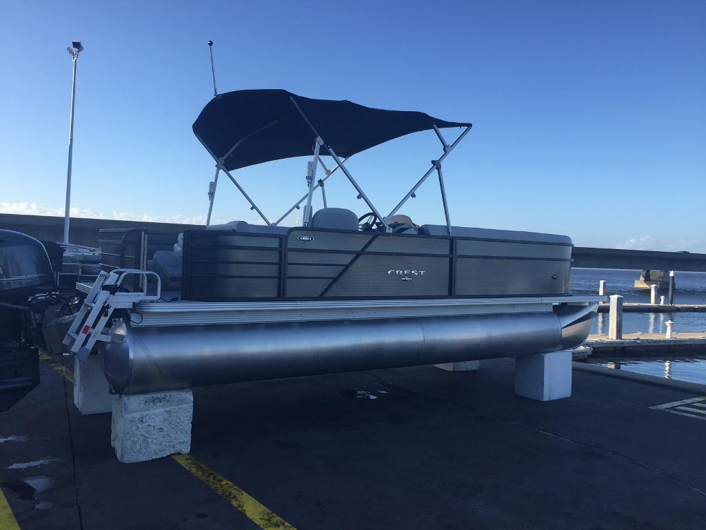 Crest Pontoon Boats 220 SF I
