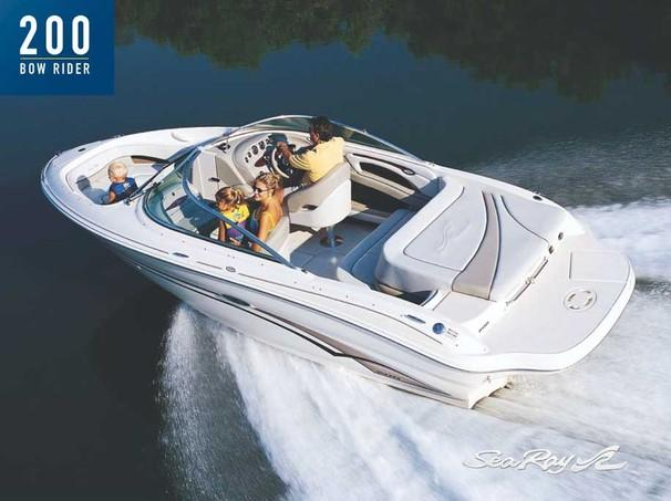 Sea Ray 200 Bowrider Manufacturer Provided Image