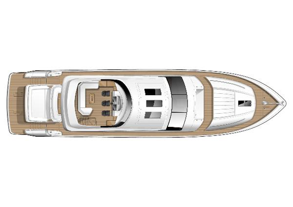 Princess V85-S Flybridge Layout