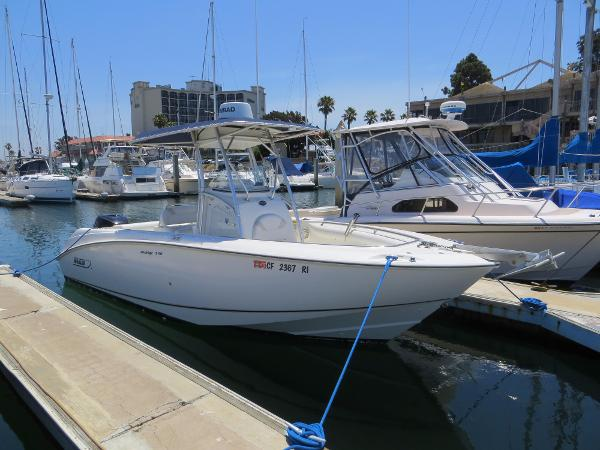Boston Whaler 240 Outrage Actual Boat