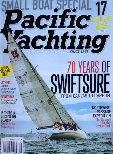 Pacific Yachting Cover
