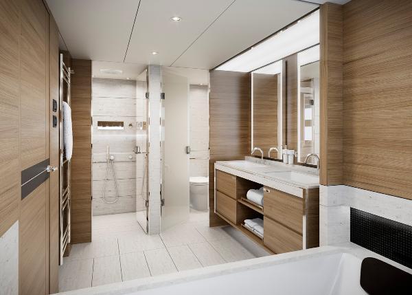 Princess M Class 35M Bathroom