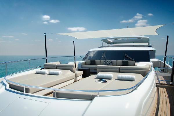 Princess M Class 35M Foredeck Awning