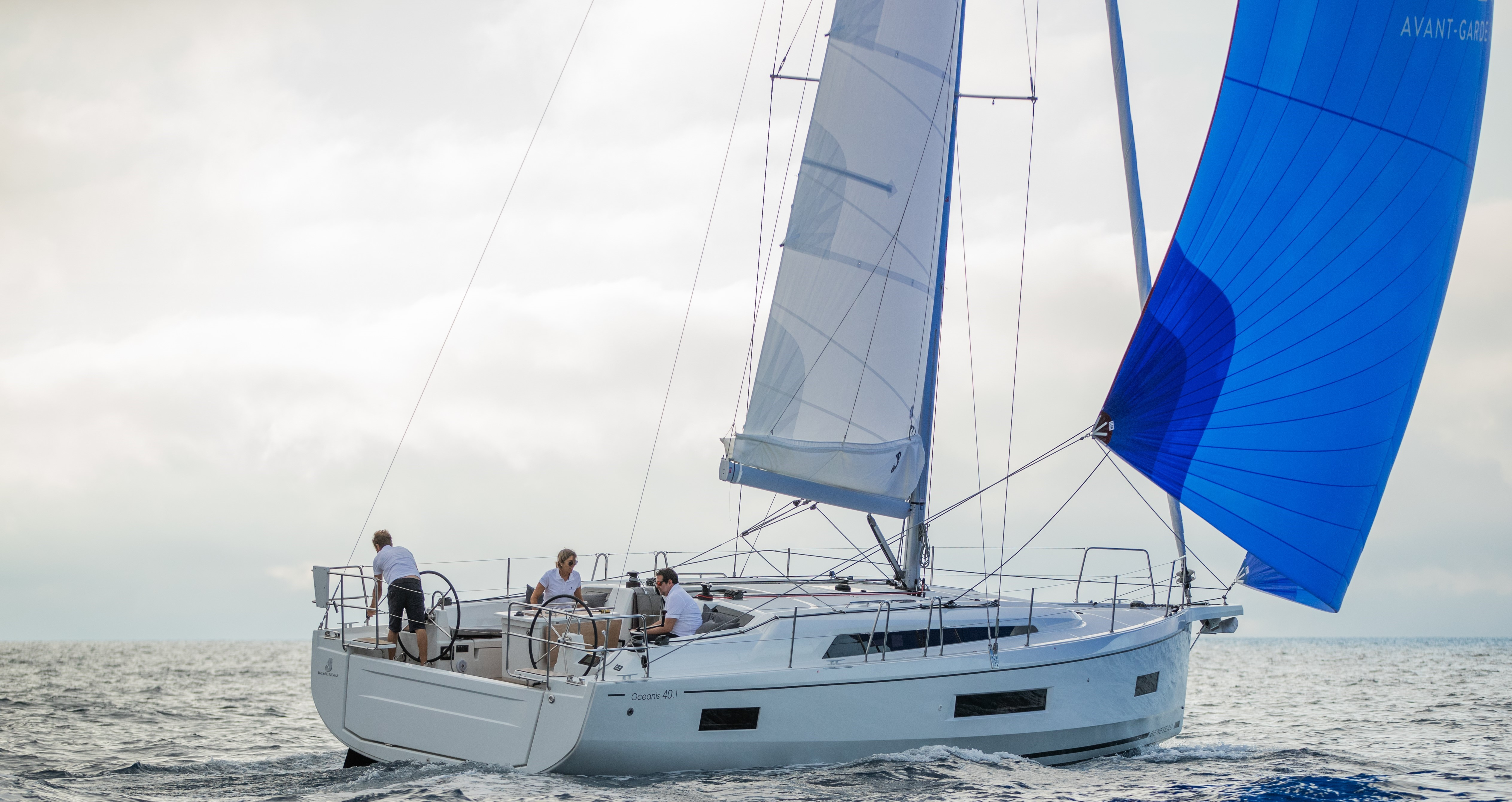 Beneteau Oceanis 40.1 Beneteau Oceanis 40.1 Sailing