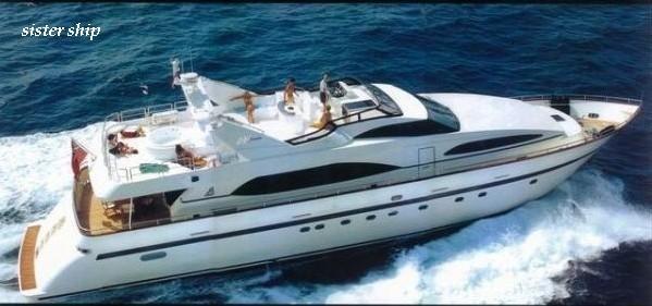 Azimut 100 Azimut 100 sailing