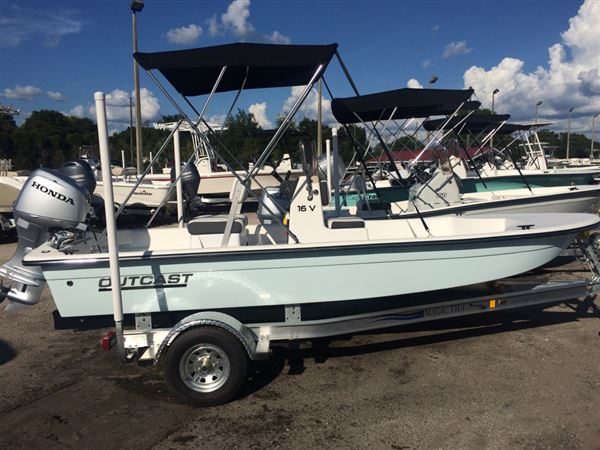Outcast Skiffs 16 v