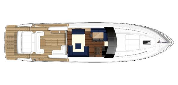 Princess V78 Deck Layout