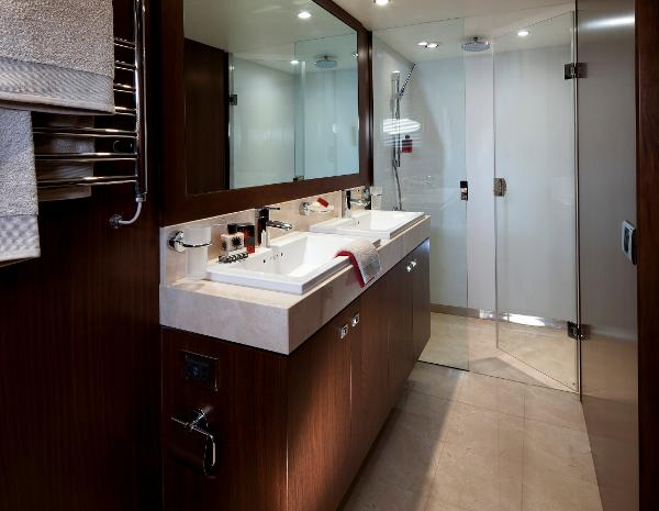 Princess V78 Master Stateroom Bathroom