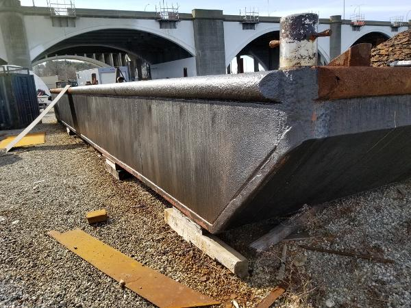 Commercial 50 x 20 x 3 Steel Barge