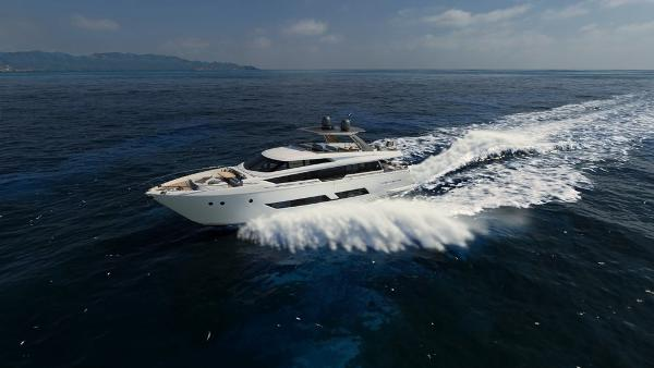 Ferretti Yachts 850 Manufacturer Provided Image