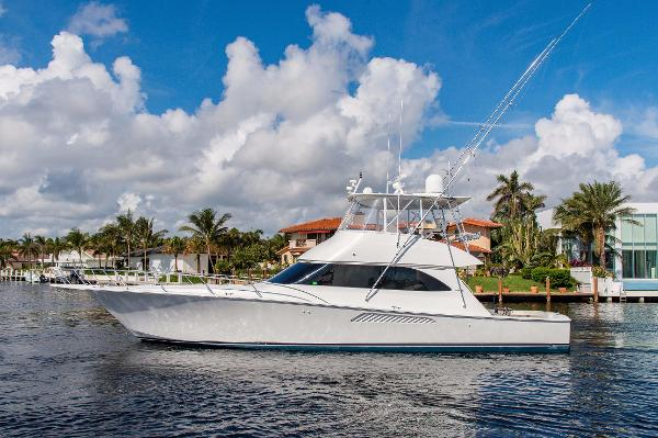 Viking 54' Sport Fisherman Port Profile