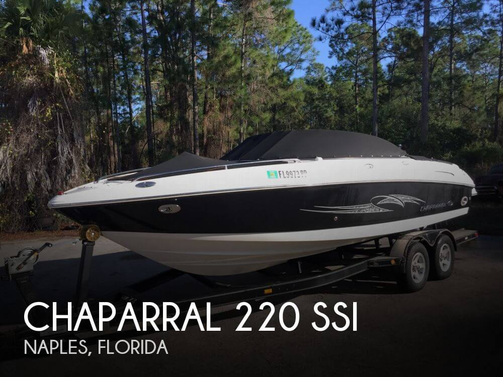Chaparral 220 SSi 2007 Chaparral 220 Ssi for sale in Naples, FL