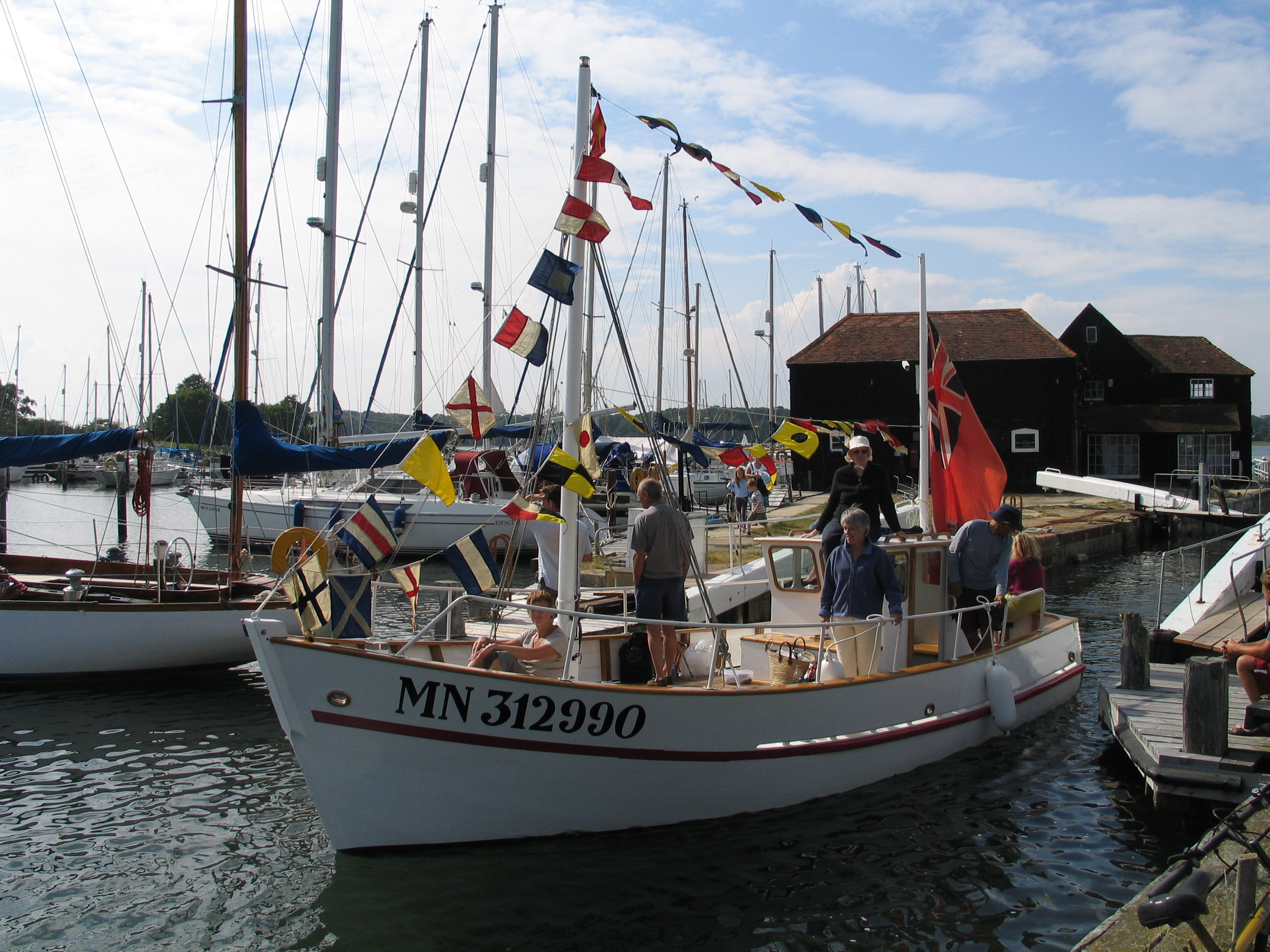 Boatyard Bac a Moteur