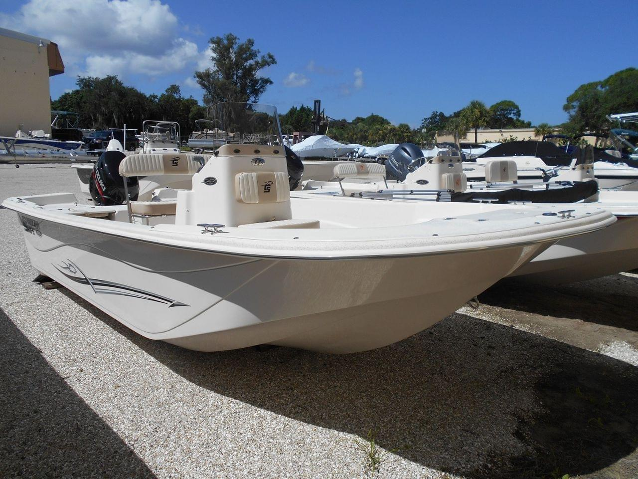 Carolina Skiff 178 DLV Rigged