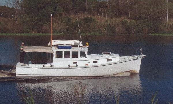 McIntosh Downeast Lobster Yacht