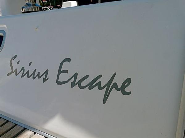 Name on stern