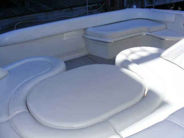 Cockpit Seating Looking Aft