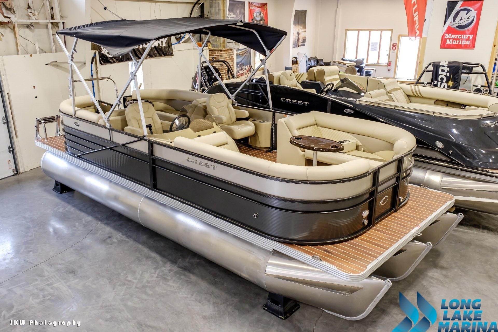 Crest Pontoon Boats Crest II 230 SLC