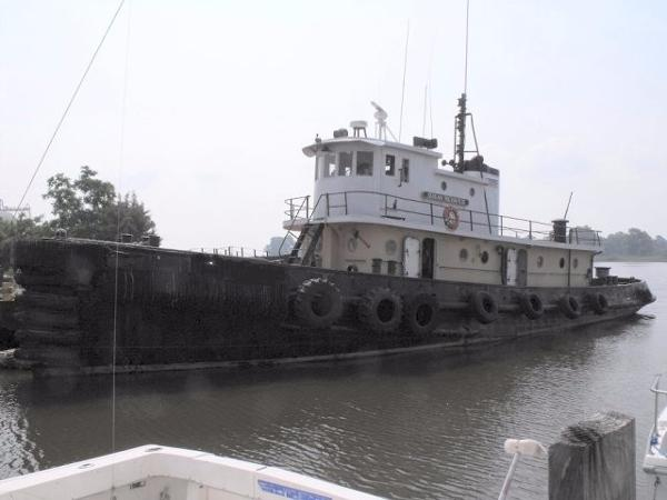 Steel Model Bow Tug