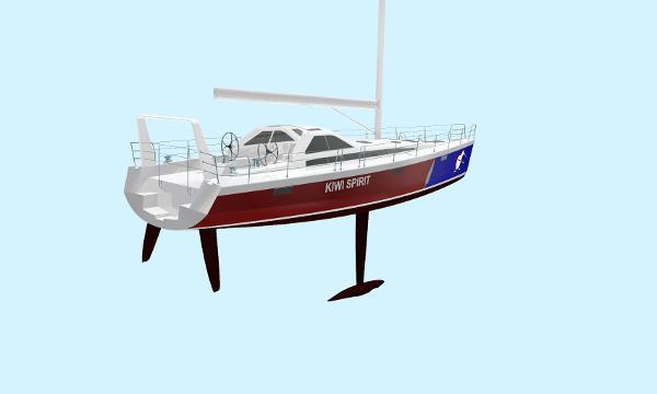 Lyman-Morse / Farr  Racer-Cruiser hull # 2
