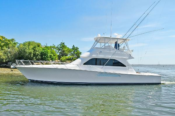 Viking 52 Convertible Port Side