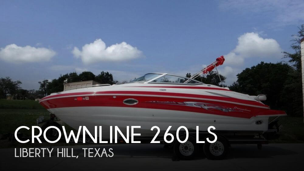 Crownline 260 LS 2007 Crownline 260 LS for sale in Liberty Hill, TX