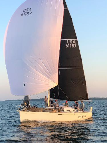 Beneteau First 36.7 Under Spin