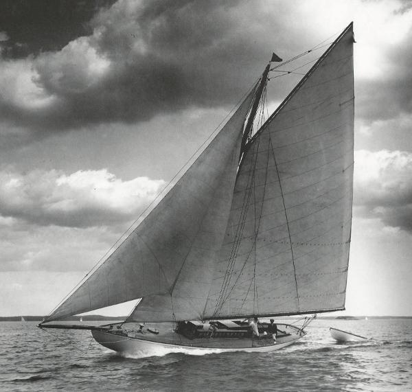 Herreshoff Bar Harbor 31 Sistership Indian.  Willard Jackson image, courtesy MIT