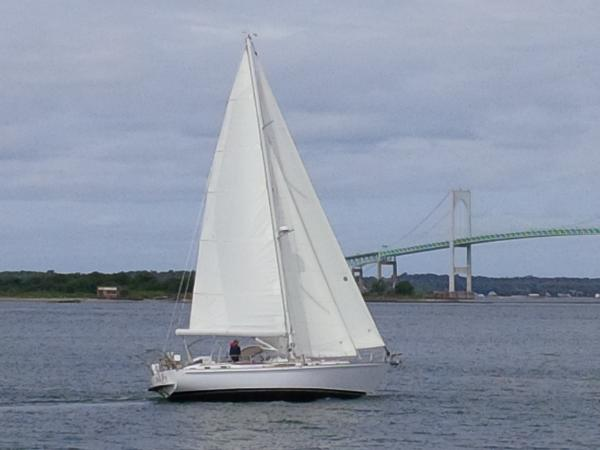Whitby Brewer Cruising Sailboat