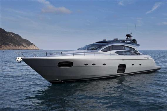 Pershing 74 2017 Pershing 74, Sultan Profile