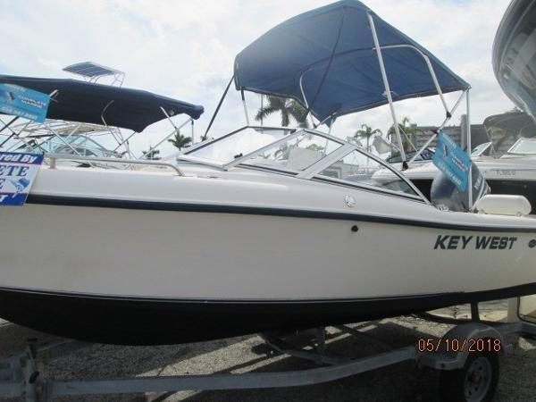 Key West 186 Dual Console