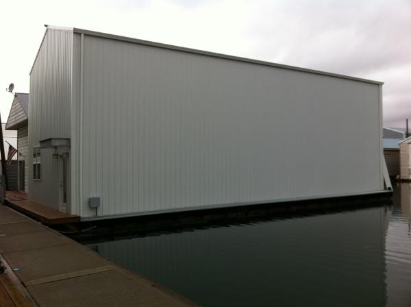 BoatHouse Steelhead Construction Custom Profile view