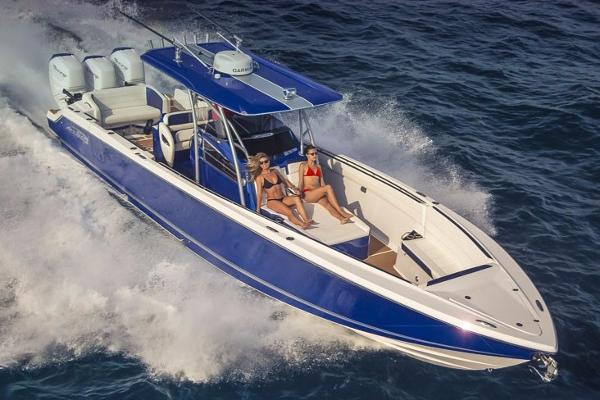 Nor Tech 390 Center Console Manufacturer Provided Image