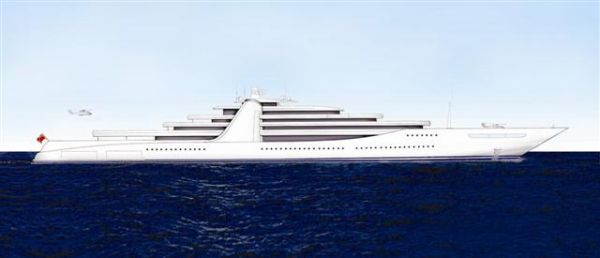 Custom Gigayacht Photo 1
