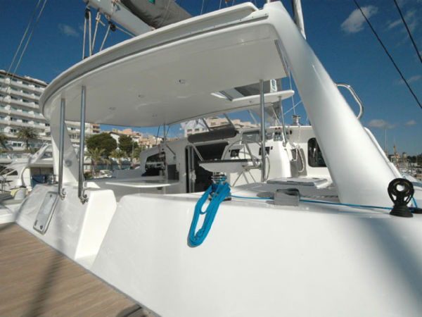 Traveler Arch and Hard Top Bimini