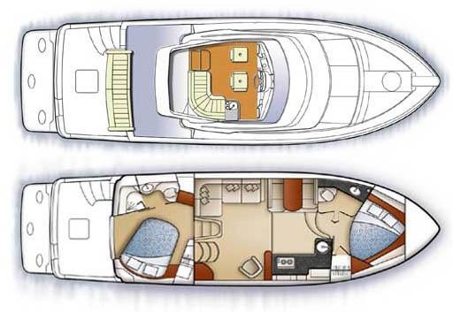 Carver 41 Cockpit Motor Yacht Manufacturer Provided Image