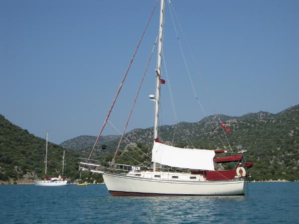 At anchor