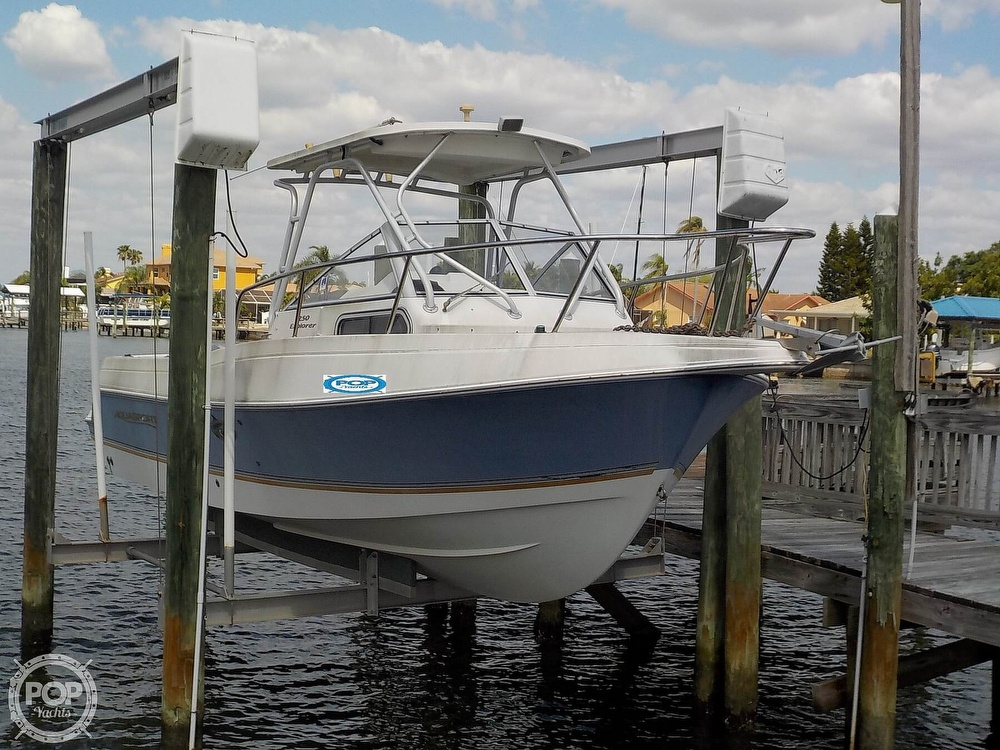 Aquasport 250 Explorer 2002 Aquasport 250 Explorer for sale in Apollo Beach, FL