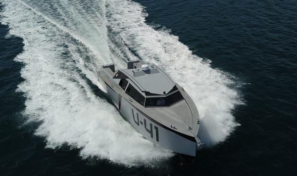 Custom Aluminium Passenger Speedboat