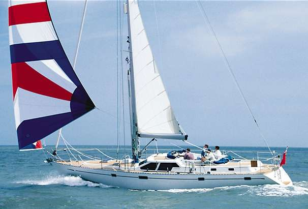 Oyster 485 Deck Saloon Manufacturer Provided Image