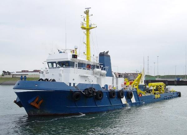 Custom Line Offshore Support Vessel
