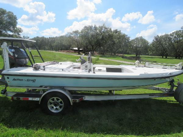 2001 action craft 1720 flyfisher arcadia punta gorda for Action craft boat parts