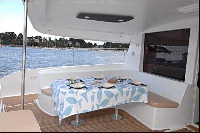 Fountaine Pajot Salina 48 Evolution Cockpit