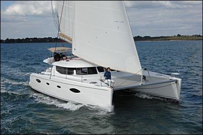 Fountaine Pajot Salina 48 Evolution Cruising