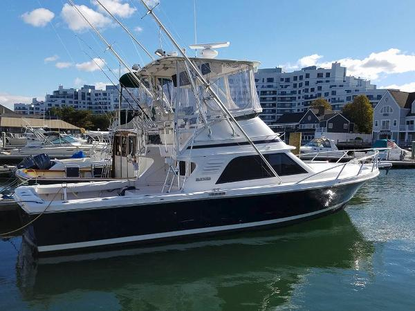 Blackfin Convertible Starboard Profile